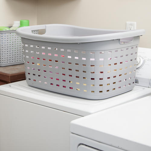Sterilite Weave 1 8 Bushel Laundry Basket At Menards