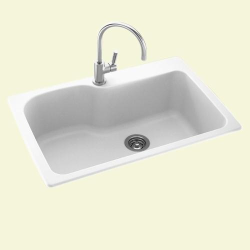 swan dual mount 33 solid surface