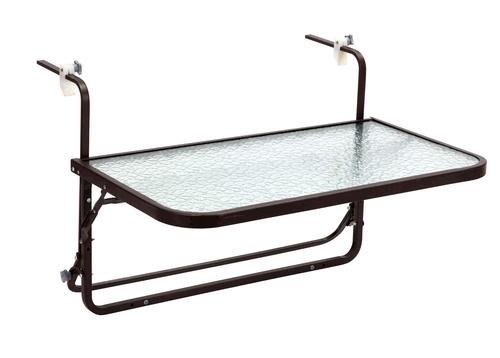 retangular folding patio table at