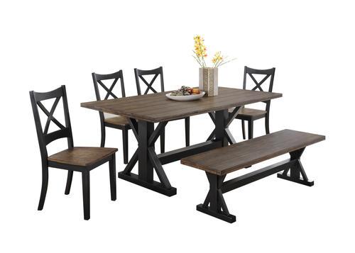 lexington dining chairs ergonomic chair history simmons 6 piece set at menards