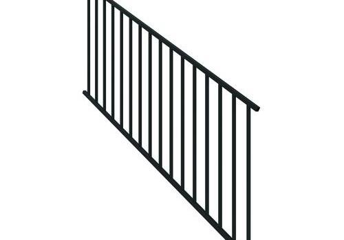 Designer S Image® 34 X 6 Stair Rail Panel At Menards® | Menards Outdoor Stair Railings | Composite | Front Porch Railing | Railing Systems | Patio | Deck Railing Kits