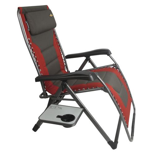 zero gravity patio chair xl ergonomic back support guidesman padded lounger at menards