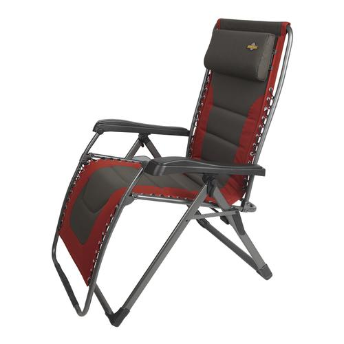 xl zero gravity chair with canopy sliding pillow folding side table playstation 4 gaming guidesman padded lounger patio at menards