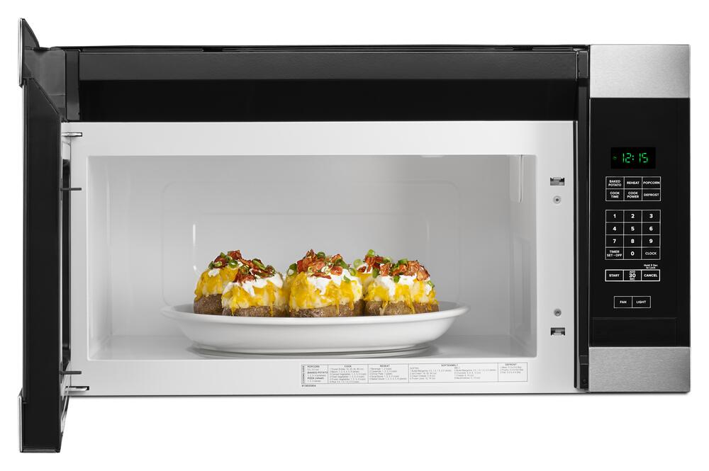 1 6 cu ft over the range microwave at