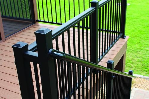Williams Ada Pipe Rail Extension Kit At Menards® | Black Iron Pipe Handrail | Cast Iron | Horizontal Pipe | Paint Pipe | Stair Outdoor Decatur | Railing Aluminium Pipe