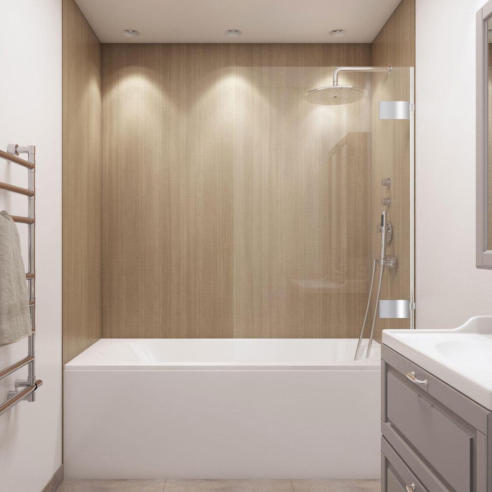 wetwall 60 w x 32 d x 60 h bathtub