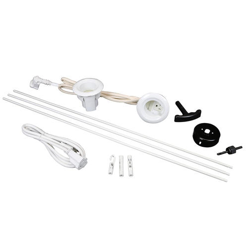 Legrand® Wiremold® White Flat-Screen TV Cord and Cable