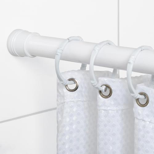 60 adjustable tension mount shower