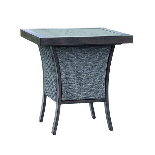 autumn glen patio end table at menards