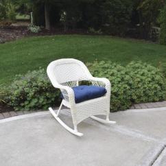 Newport Rocking Chair Steel Furniture Backyard Creations Patio At Menards