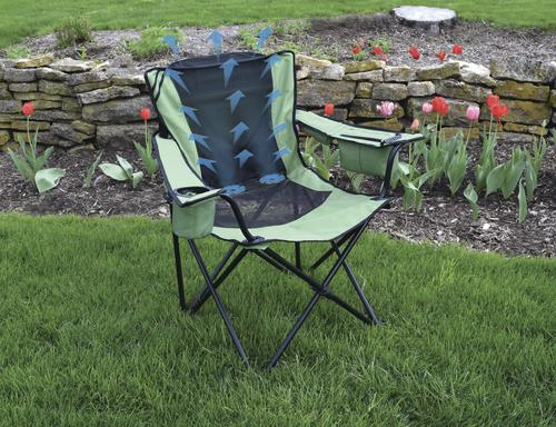 folding quad chair hanging garden chairs rattan b cool assorted colors at menards