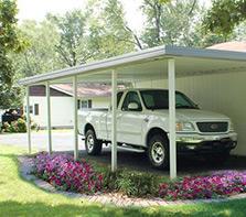 Carports Portable Garages At Menards