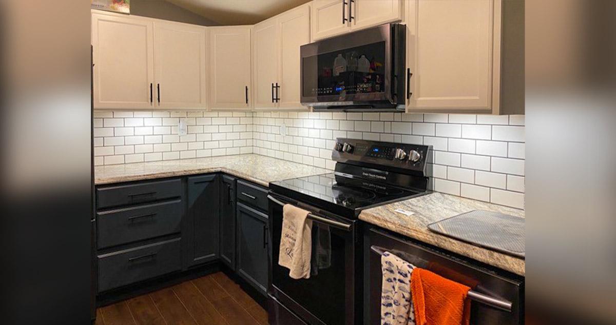 subway tile kitchen backsplash