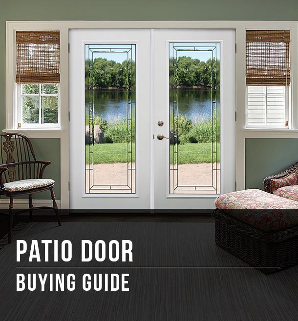 patio door buying guide at menards
