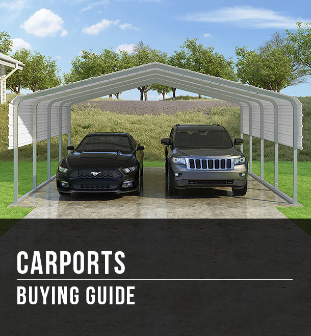 Carports Buying Guide At Menards