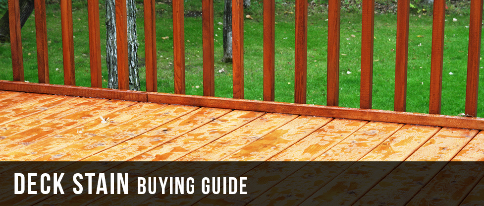 deck stain buying guide