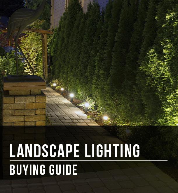 landscape lighting buying guide at menards