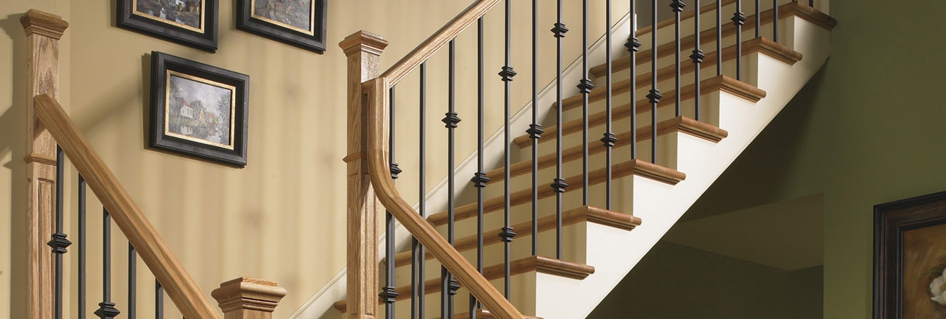 Millwork Staircase Systems Accessories At Menards® | New Handrail For Stairs | Traditional | Wall Both Side | Contemporary | Mission Style | Wrought Iron