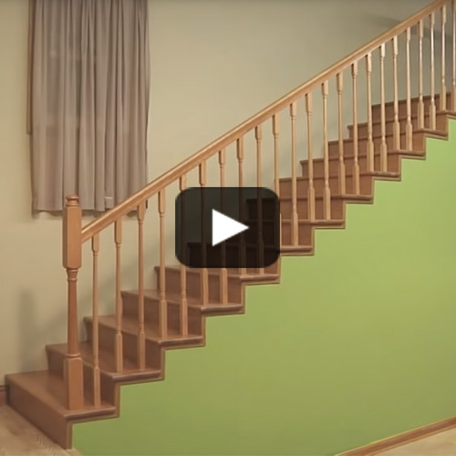Millwork Staircase Systems Accessories At Menards® | Handrails For Steps Indoors | Staircase Around Lift Wall | Glass Panel Stainless Steel Handrail | Narrow Staircase Brushed Nickel | Width Hand | Minimalist