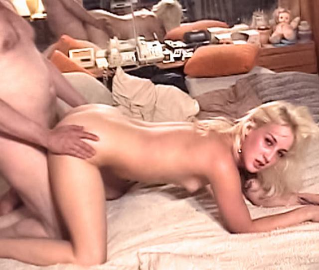 Blonde Hoe Suzie Ink Gets Smacked With Naughty Old Dick