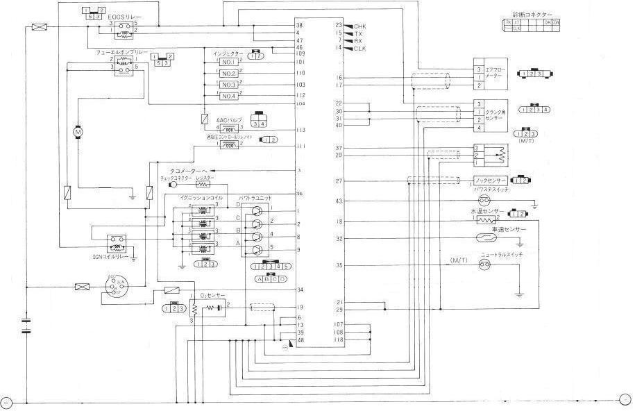 SRECUDiagram12 sr20 wiring diagram efcaviation com sr20 wiring diagram at edmiracle.co