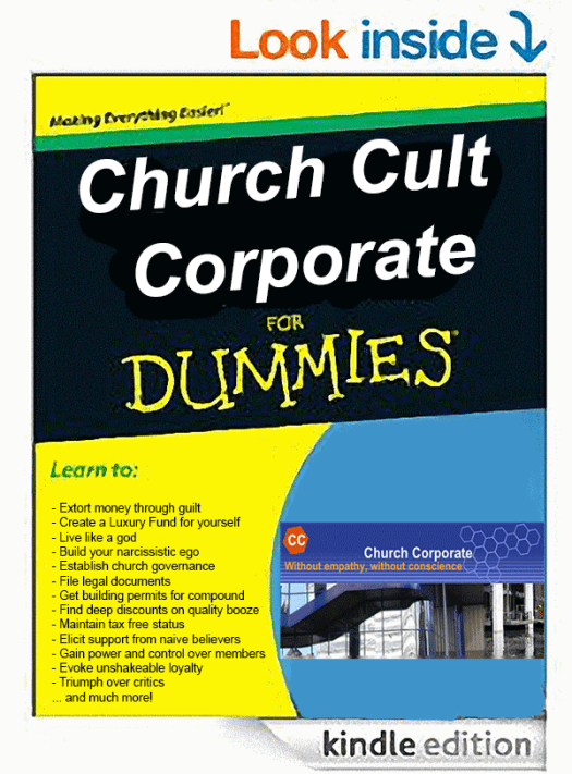 Church Cult Corporate for Dummies