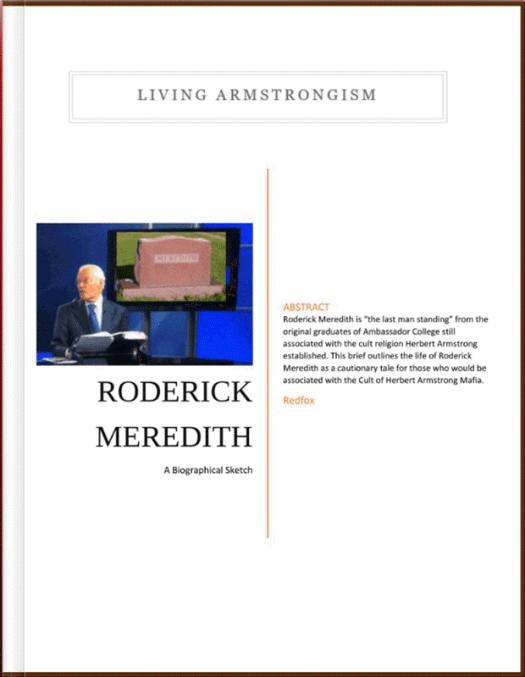 RoderickMeredithBiologicalSketchCover