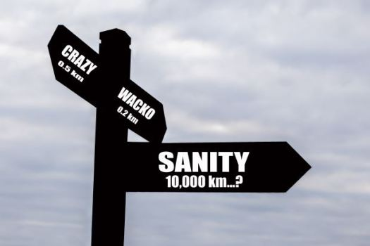 Sanity or Crazy? Signpost!