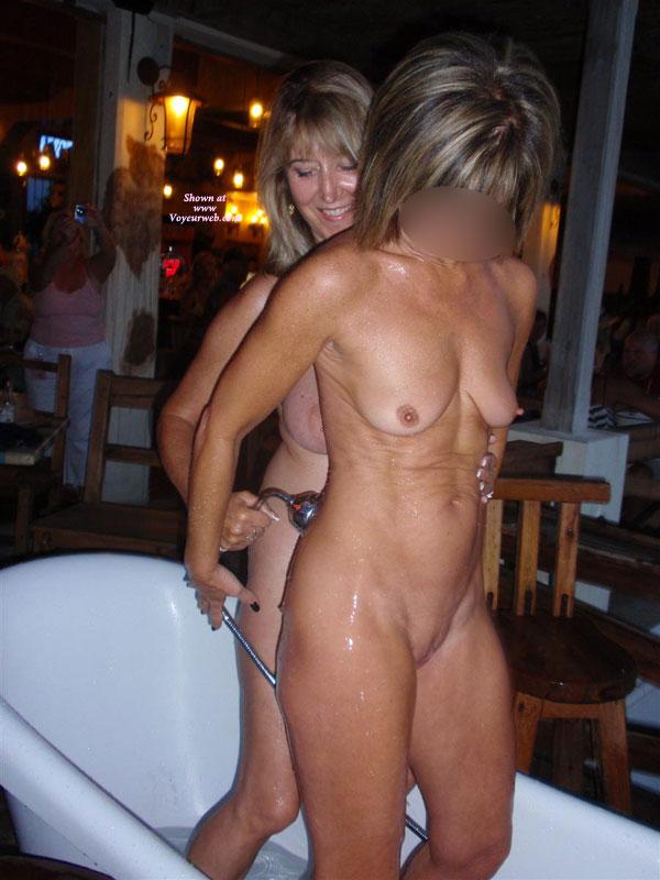 Naked bar wife Husband Strips
