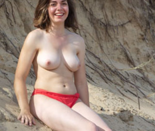 Red Pantie At The Sand