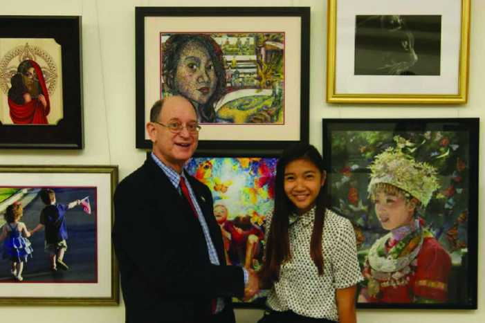 Student self-portrait to be displayed in Capitol Rotunda
