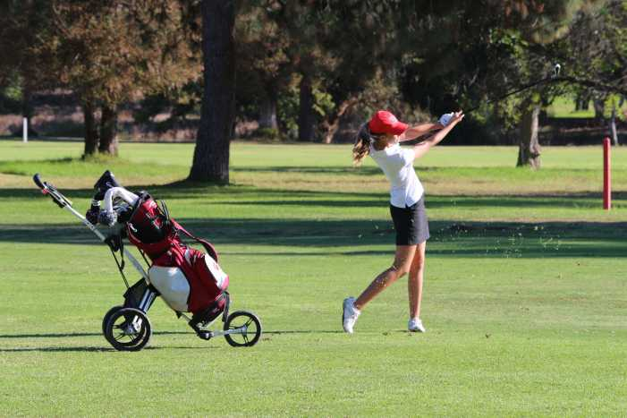 Girls' Golf ends playoff run after first round