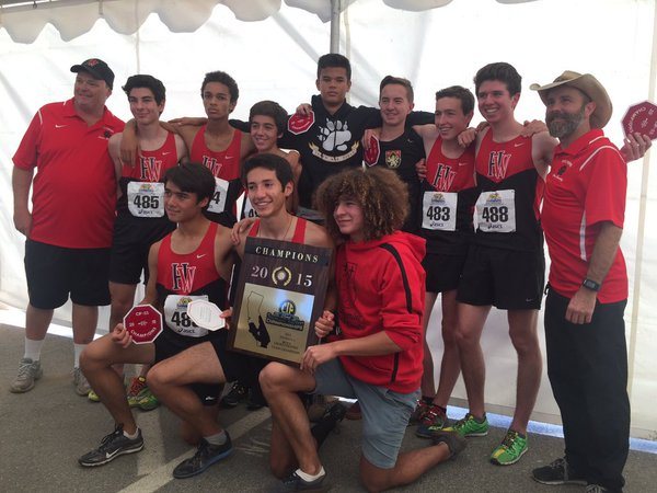 Cross Country wins CIF