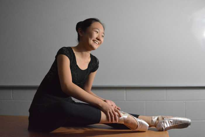Angel Hoyang '18 dances through life
