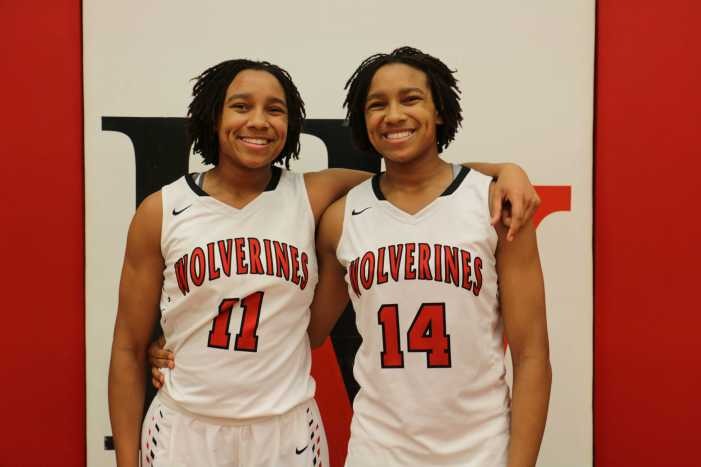 Double Trouble: twins Jayla and Jayda Ruffus-Milner compete side-by-side (video)