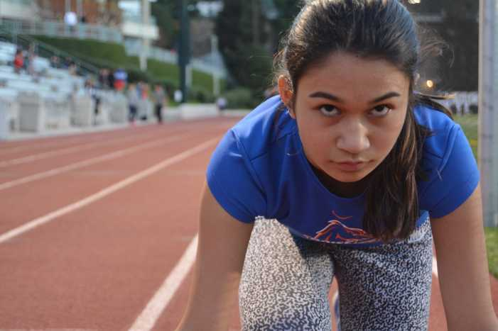 London Alexander '18 is on track for success