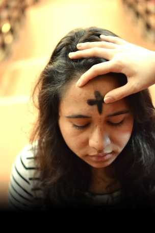 Regilious and secular students alike observe Lent, the 40-day period when many Christians fast or give up luxuries. Photo by Sacha Lin.