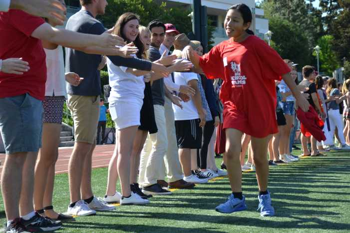 School hosts track meet for Special Olympics athletes