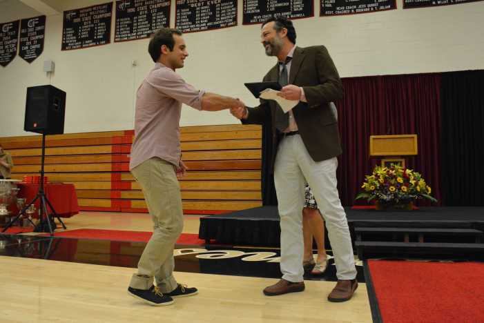 School honors students, staff at awards ceremony