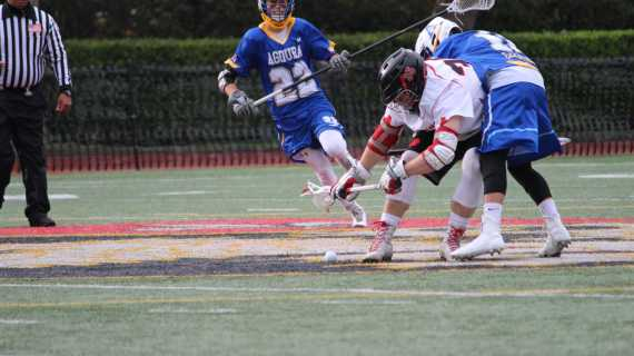 Boys' Lacrosse ends season with close loss to Loyola