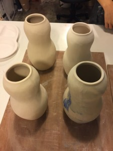 Some pottery made by Rachel Lee. Printed with permission of Rachel Lee.