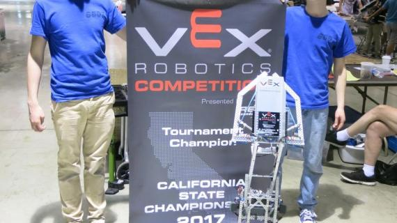 Robotics club member wins state championship
