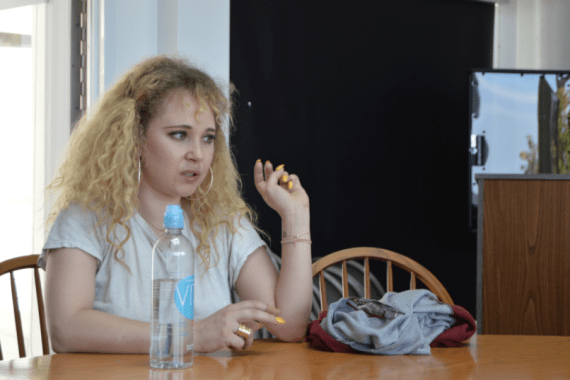 Juno Temple encourages female empowerment