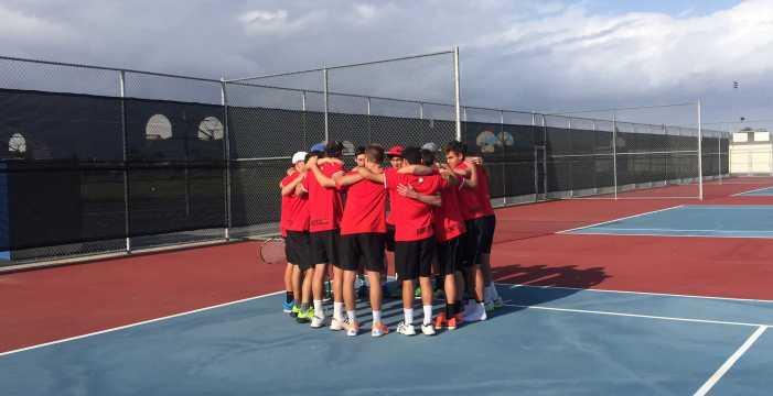 Boys' tennis defeats rival Los Alamitos to advance to CIF semi-finals