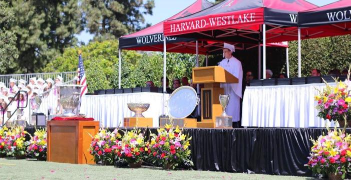 Huybrechts honored at commencement ceremony