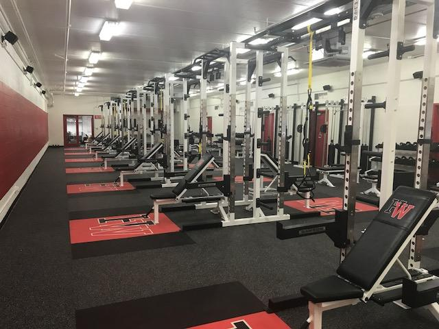 Renovations to weight room complete