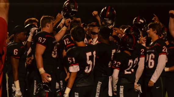 Football wins season opener on final play
