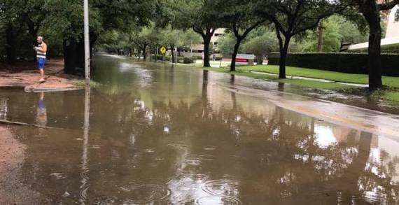 Hurricane Harvey hits community members