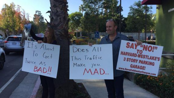 Neighbors increase action in opposition to parking structure