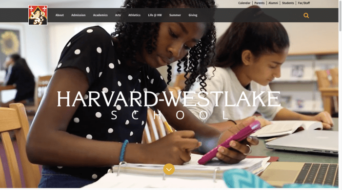 School unveils redesigned website